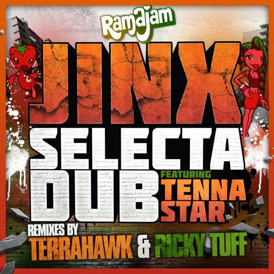 Jinx ft Tenna Star - Selecta Dub. Remixes from TerraHawk & Ricky Tuff